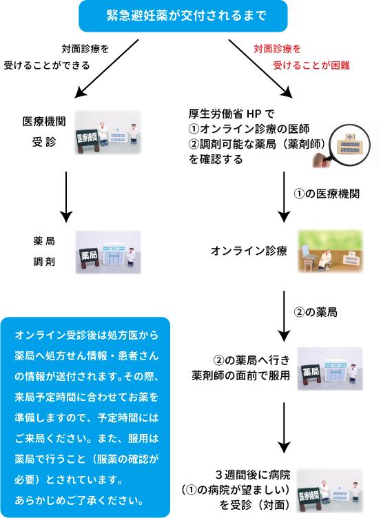 緊急避妊薬、アフターピル、オンライン診療(相模原 漢方 鍼灸 接骨 タナココ)